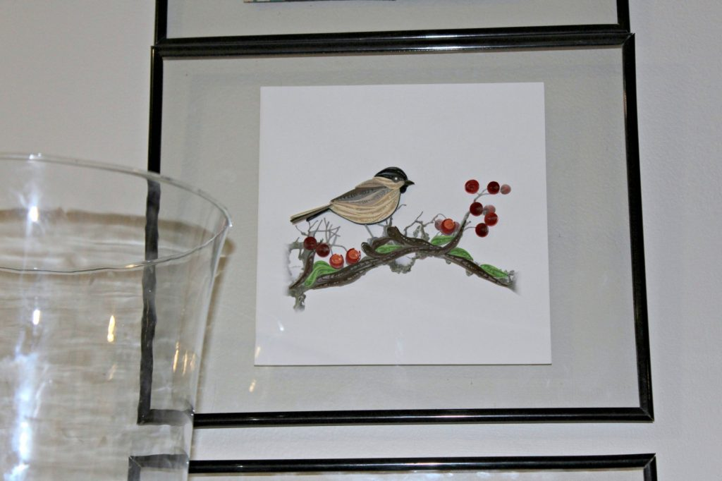 Christmas Card Wall Decor : How to give your mantel a fresh look for spring knock it