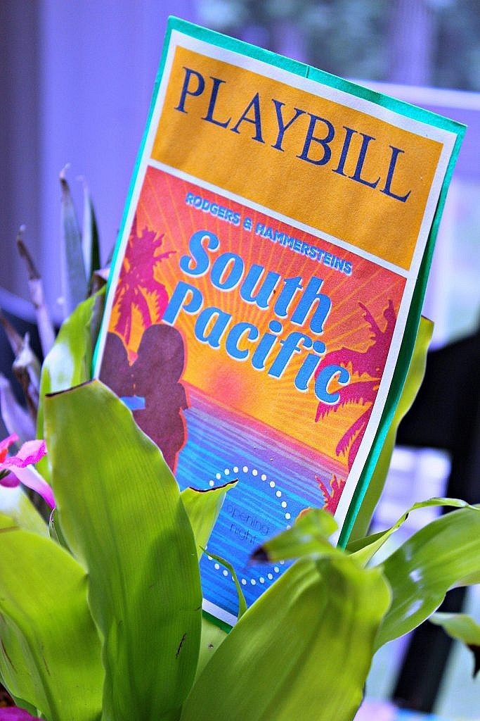 South Pacific Broadway Table setting Tony Awards